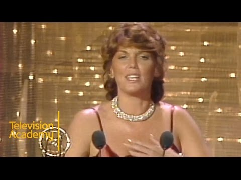 Tyne Daly Wins Outstanding Lead Actress in a Drama Series for CAGNEY & LACEY  Emmys Archive 1983