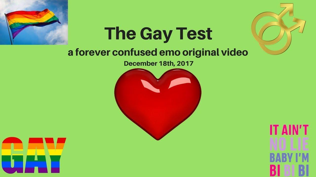 gay test 2017