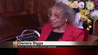 103-year-old lady returns to church