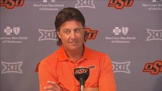 OSU Football - Gundy previews Tulsa