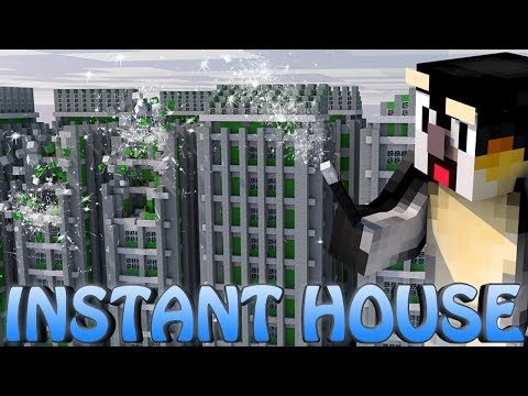 Minecraft | INSTANT HOUSES MOD Showcase! (Furniture Mod, Instant House Mod, Building Mod)