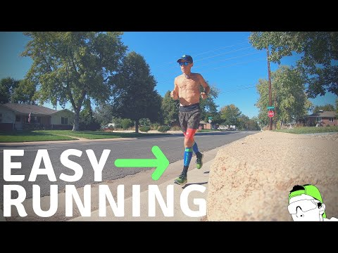 Why I Run EASY (slow), In Order To Race Fast
