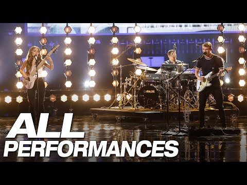 All Of We Three's Full AGT Performances - America's Got Talent 2018