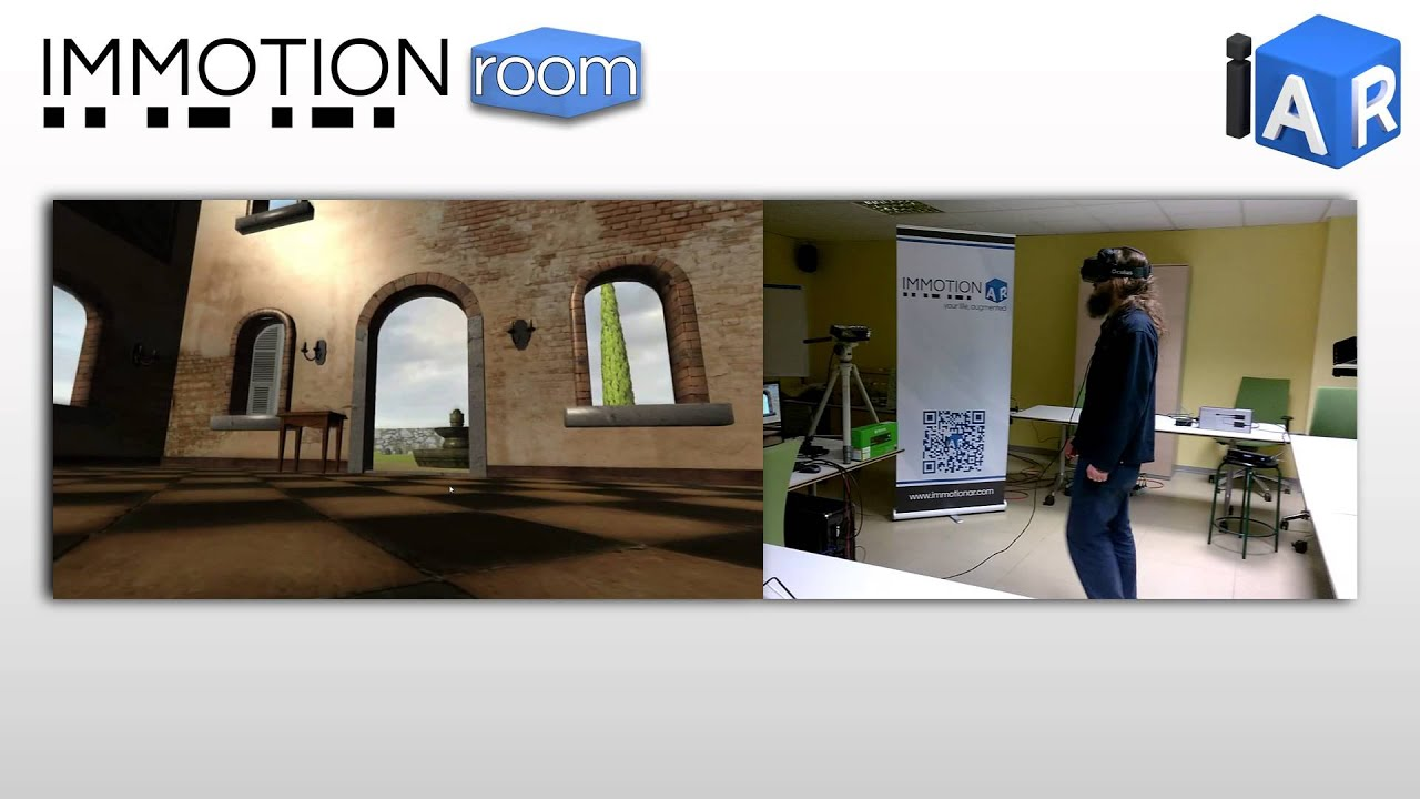 Immotionar : ImmotionRoom: your full body in Virtual Reality