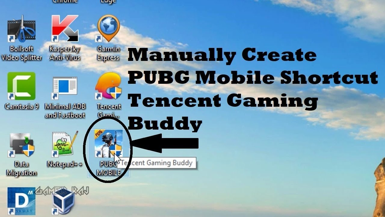 Pubg Create: Create PUBG Mobile Desktop Shortcut For Tencent Gaming