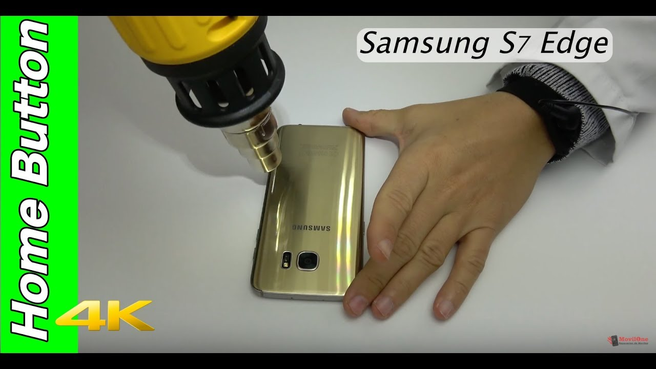 Samsung S7 Edge Home Button Replacement Youtube