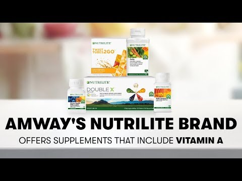 Vitamin A From Nutrilite: Vision, Immunity & Healthy Skin   Amway