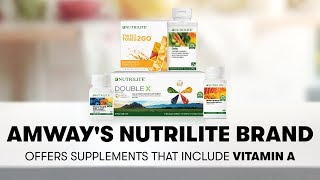 Vitamin A from Nutrilite: Vision, Immunity & Healthy Skin | Amway