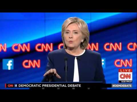All Candidates' Views on Use of Military Force at First Democratic Presidential Debate