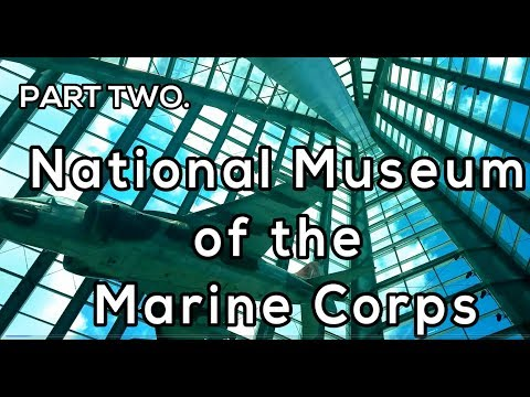 VLOG - Part Two - National Museum of the Marine Corps  || Sarah Kwak