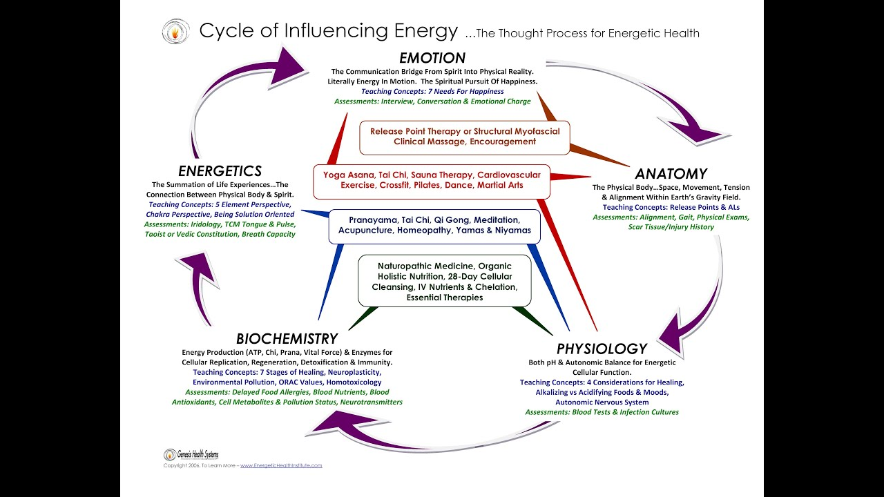Energetic Health - What Does Holistic Mean? - by Dr H