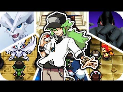 Pokémon Black & White - All Trainer N Battles (1080p60)