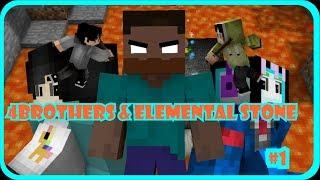 Erpan vs Zenmatho!!! Ujian Terakhir Herobrine!!! (4Brothers & Elemental Stone #1)