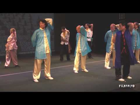 SHAOLIN KUNGFU PERFORMANCE in USA ( P3 )