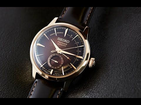 VIDEO: The Beautifully Brown Seiko Presage SRPD36J1 And SSA392J1