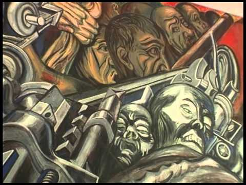 Los Murales Del Palacio De Bellas Artes Demo Youtube