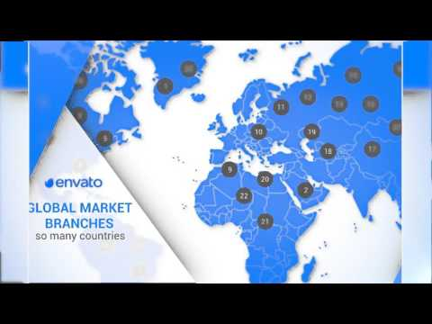 Corporate Annual Report | Download After Effects template - YouTube