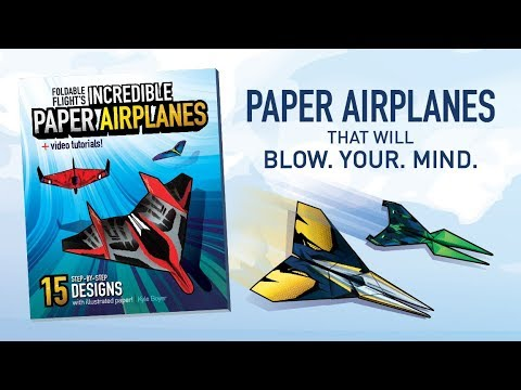 """The Best Paper Airplane Book Out There"" 