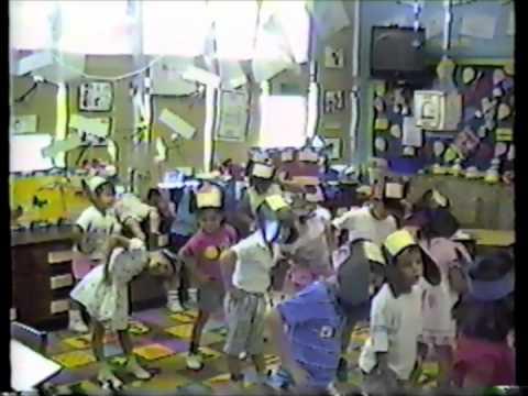 Palm Springs Elementary School Pre-K class Miss Perez