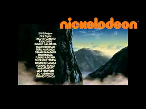 pokemon movie 9 end credits on nickelodeon uk