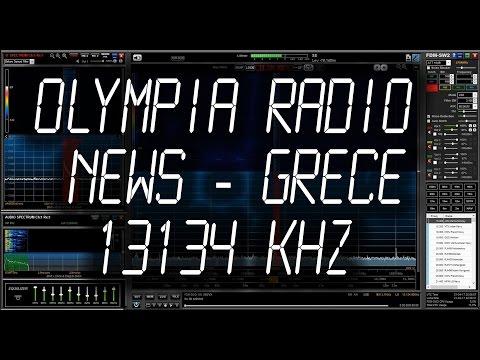 Olympia Radio, Greece (SVO), Maritime News (USB) - 13134 kHz