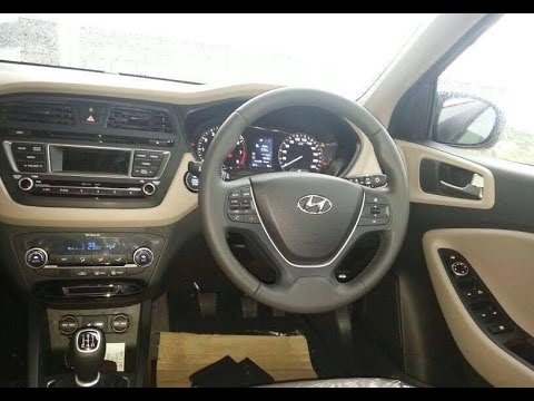 2016 hyundai elite i20 interior review youtube - Hyundai i20 interior ...
