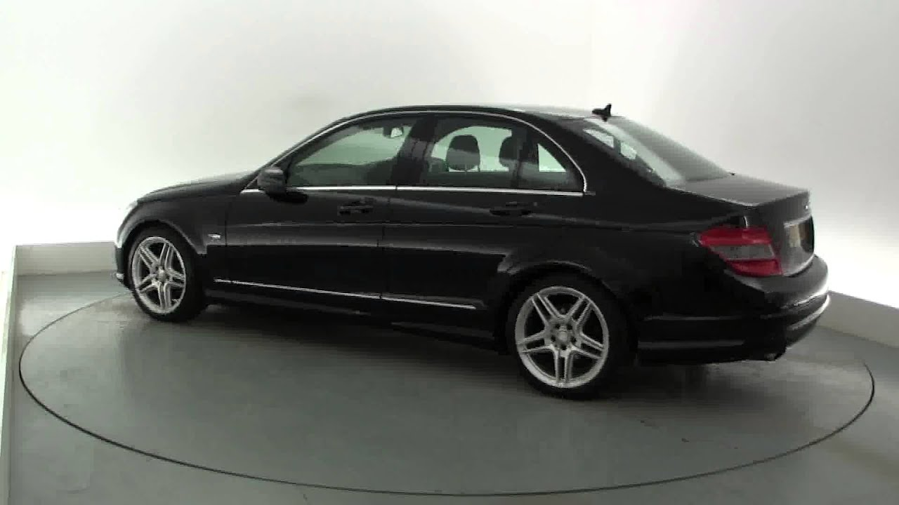 2009 mercedes c class c180 kompressor blueefficiency sport youtube. Black Bedroom Furniture Sets. Home Design Ideas