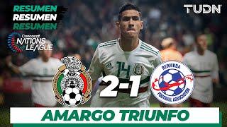 Resumen y goles | México 2 - 1 Bermudas...