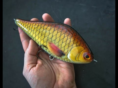 Lure Making Chronicles: How I Made The Gliding Bream