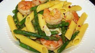 Shrimp And Asparagus With Penne Recipe