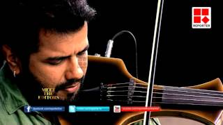 Violinist Balabhaskar in Meet the Editors