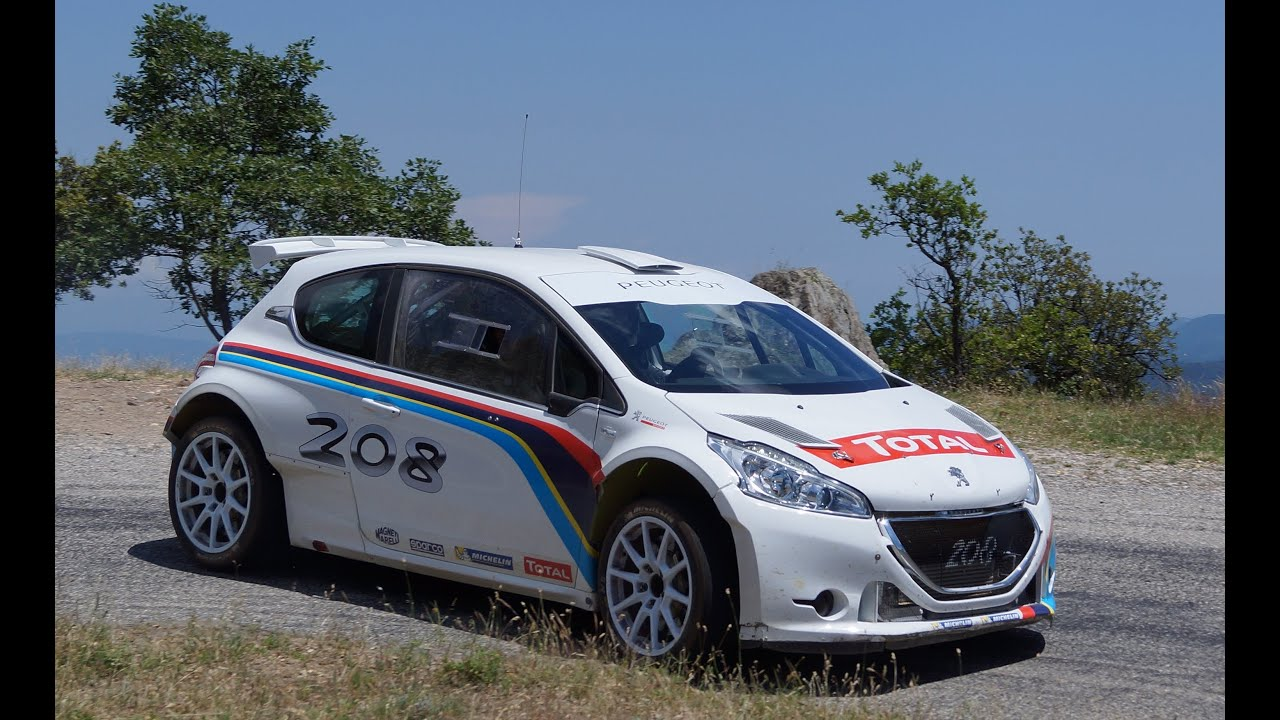TEST DAYS Peugeot 208 T16 R5 By Craig BREEN SouthFrance