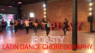 Boasty Choreo at PLAYGROUND LA Jenna and Val Latin Class - Dancer Lily