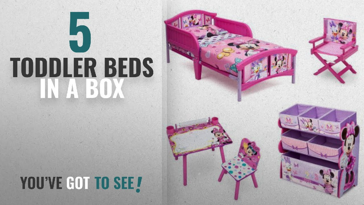 Top 10 Toddler Beds In A Box [2018]: NEW! 5 Set Room-in-a-Box ...