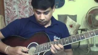 Yeh to sach hai ki bhagwan hai on Guitar