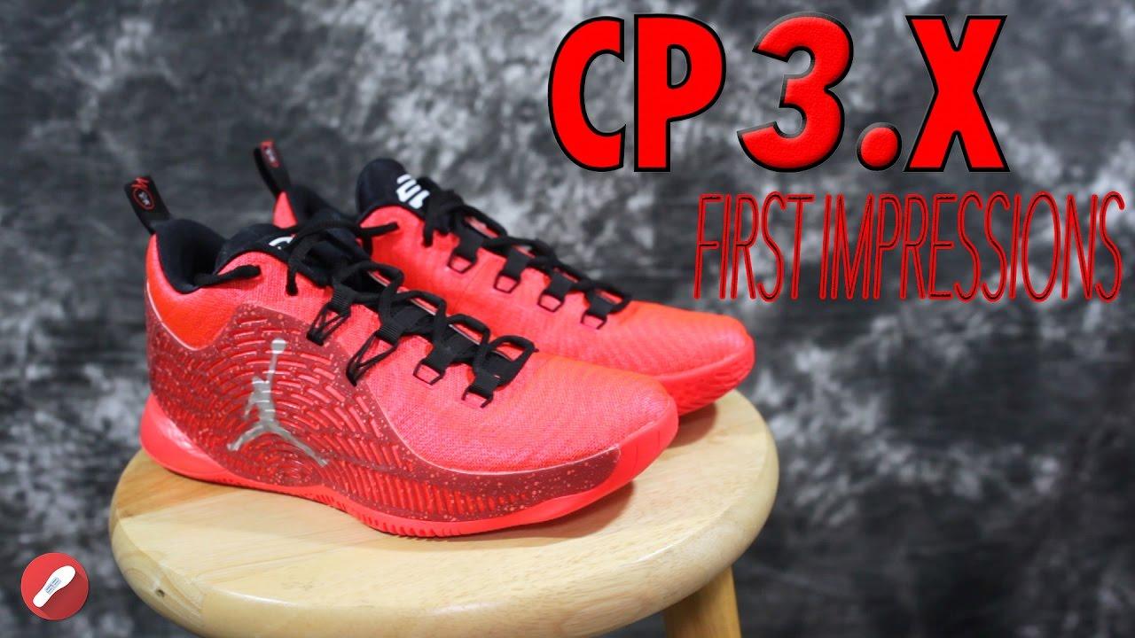 a561508167a Jordan CP3.X First Impressions! - YouTube