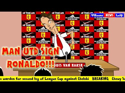 MAN UTD SIGN RONALDO (after Cambridge 0-0 FA CUP draw. Transfer news 2015)