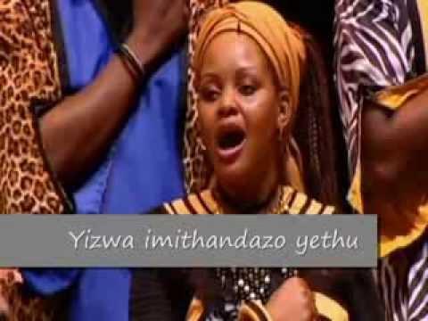 Hino da África do Sul (Salve Mandela) - Soweto Gospel Choir Legendado -  Nkosi Sikelel África
