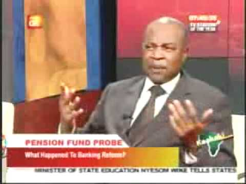 Dr. Emeka Okengwu's interview on Pension Fund Probe in the A