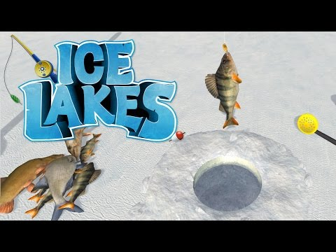 Ice Lakes - Ice Fishing in July! - Ice Fishing Simulator Game
