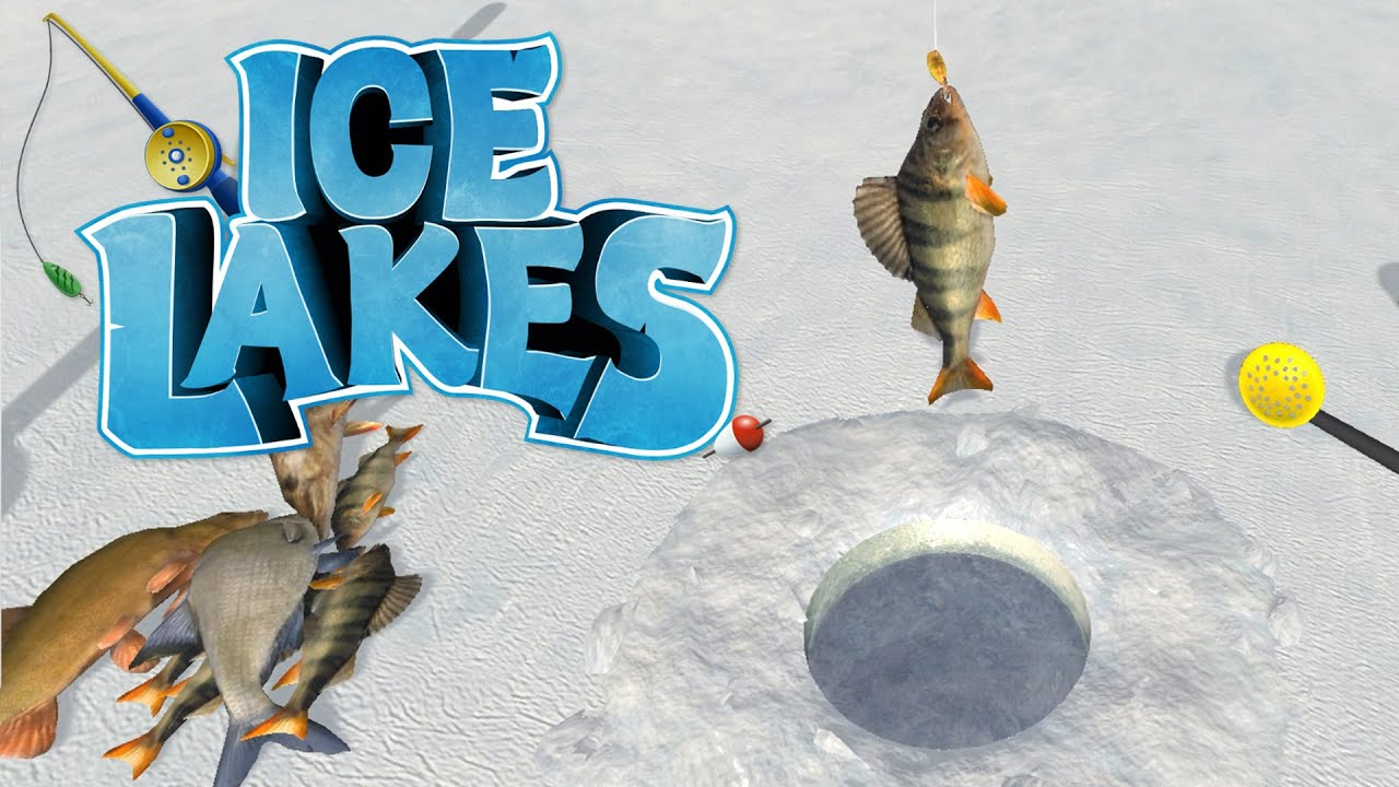 Ice lakes ice fishing in july ice fishing simulator for Ice fishing videos