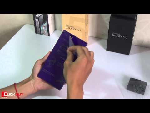 Mở hộp Sony Xperia Z Ultra AU - Clickbuy