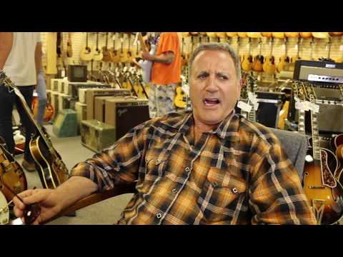 Frank Stallone takes over video of Christian Boehm playing our 1963 Gibson SG Special