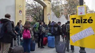Imatges de la trobada de Taizé 2015 a València