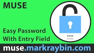 Easy Password Protect With Entry Field ( Adobe Muse )