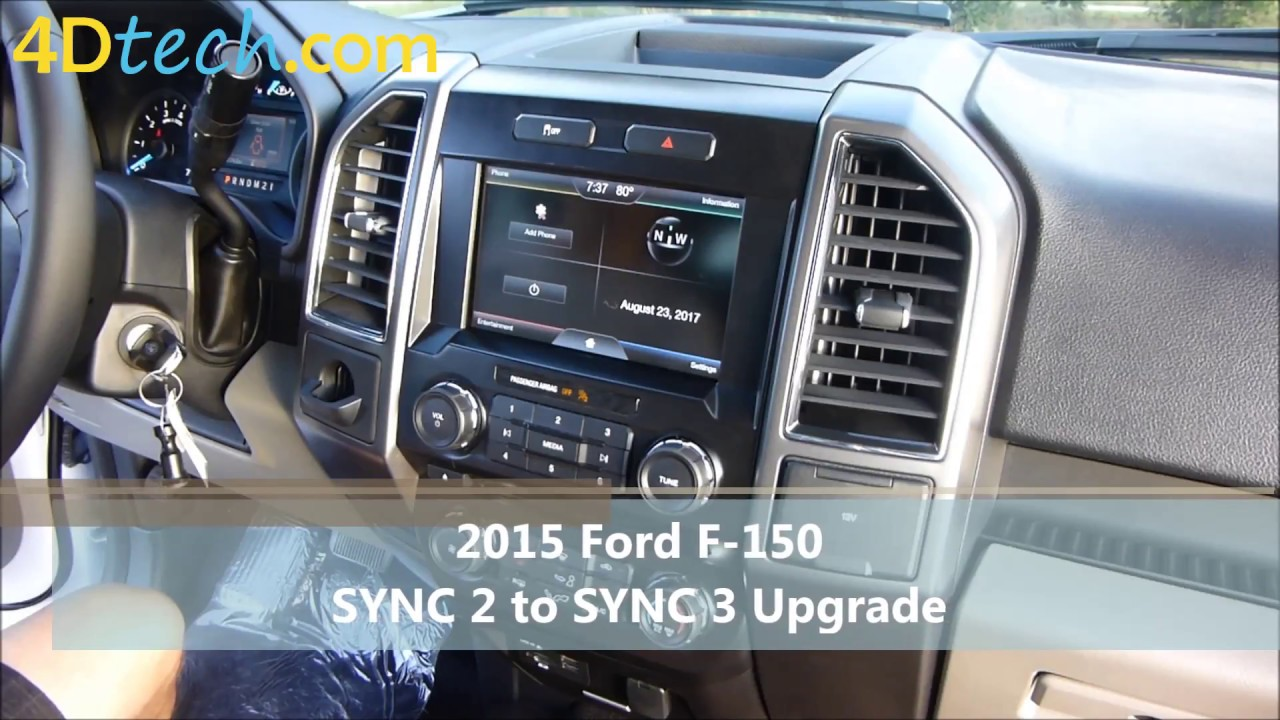 SYNC 2 to SYNC 3 Upgrade | 2015 Ford F-150