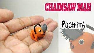 Pochita - Chainsaw Man - Polymer Clay Tutorial 😈😈😈
