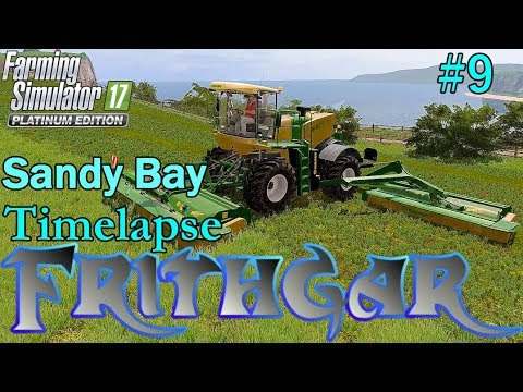 FS17 Timelapse, Sandy Bay #9: Silage Bales!