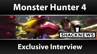 Monster Hunter 4 Ultimate Gameplay Interview