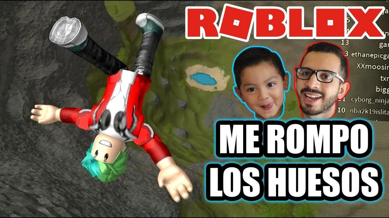 Me Rompo Los Huesos En Roblox Caida Libre De 999 999 Metros Juegos Roblox Karim Juega Youtube